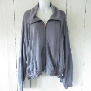 New $88 Free People Movement Goldie Zip Up Jacket